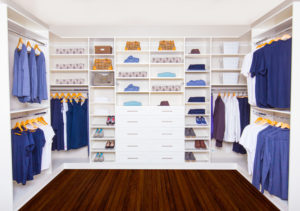 custo walk-in closet organizer in vancouver